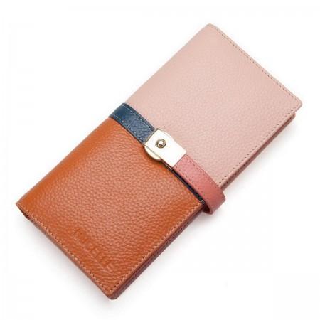 Usnjena večbarvna denarnica
