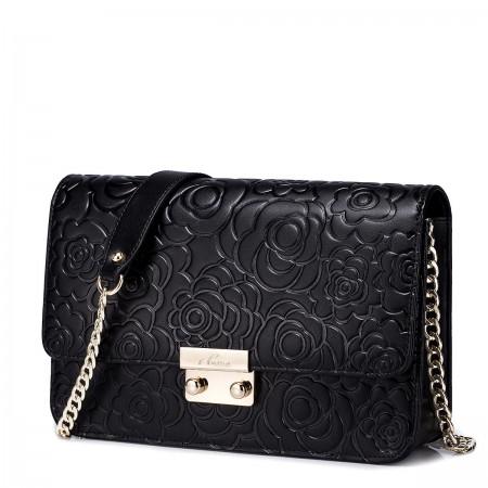 Mala vzročasta torbica črna