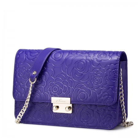 Mala vzročasta torbica vijolčna
