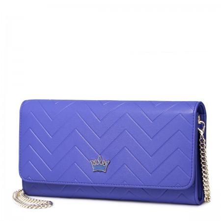 Elegantna torbica-denarnica vijolična