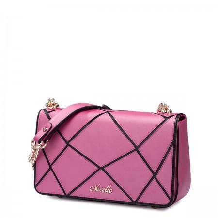 Mala usnjena torbica roza 1170504-10