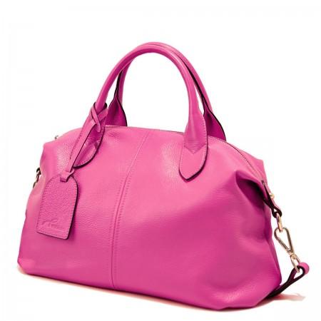 Roza mehka športna torbica