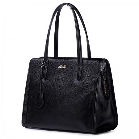 Naramna torbica črna