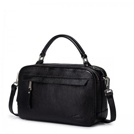 Nucelle usnjena torbica črna
