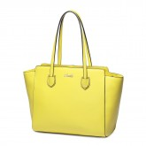 Velika usnjena torbica rumena 1170636-03