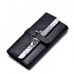 Modna črna denarnica