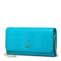 Elegantna torbica-denarnica modra