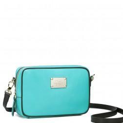 Mala modra usnjena torbica