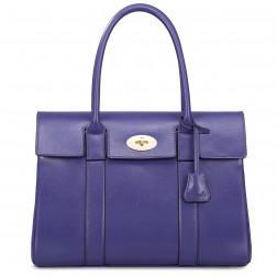 Vijolčna poslovna torbica
