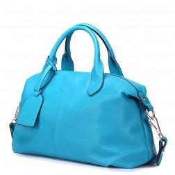 Modra mehka športna torbica