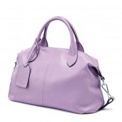 Vijolčna mehka športna torbica