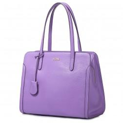Naramna torbica vijolčna