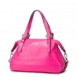 Usnjena torbica Sofia črna