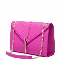 Usnjena torbica Top pink