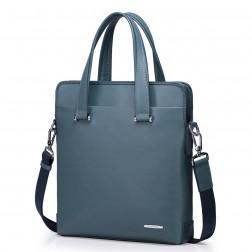 Usnjena torba modra