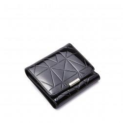 Petit portefeuille femme noir