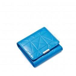 Petit portefeuille femme bleu