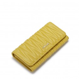 Portefeuille à rabat LIBERTY jaune