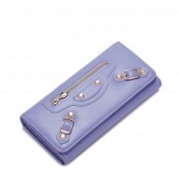 Portefeuille Fashion Zip violet