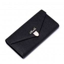 NUCELLE Porte feuille enveloppe noir
