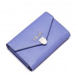 Porte-monnaie enveloppe violet