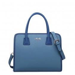 NUCELLE Cabas pour femme coloris bleu