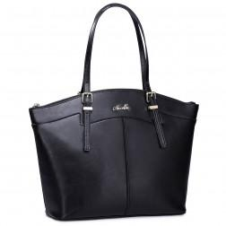 NUCELLE sac à main DOLLY noir