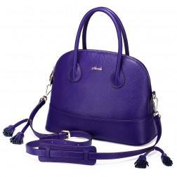 Sac en cuir SARA violet