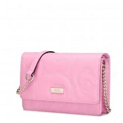 Nucelle sac en bandoulière avec chaîne rose