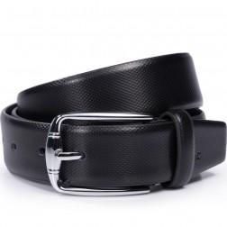 SAMMONS ceinture en cuir coloris noir
