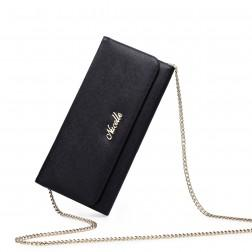 Fashionable zip wallet Black 070133-01
