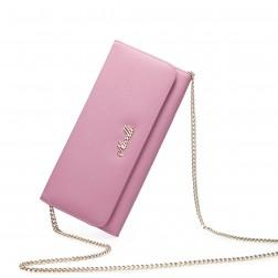 Fashionable zip wallet Pink 070133-04