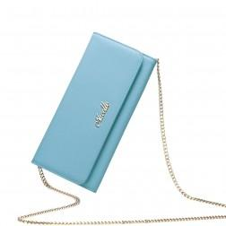 Fashionable zip wallet Blue 070133-06