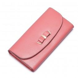 NUCELLE Leather Sweet women wallet Red