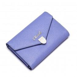 NUCELLE Women Genuine leather wallet Purple