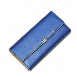 NUCELLE Genuine leather wallet Blue