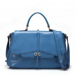 Women's elegant handbag blue
