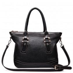 Women's cross-body bag black