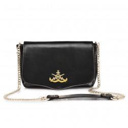 Navy designer bags Black