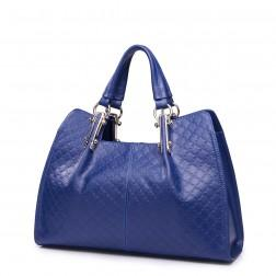 NUCELLE Patterned handbag blue
