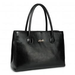 Elegant women's handbag black