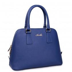 NUCELLE Leather bag blue