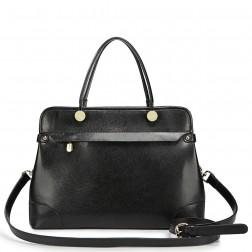 NUCELLE Stylish leather handbag apricot