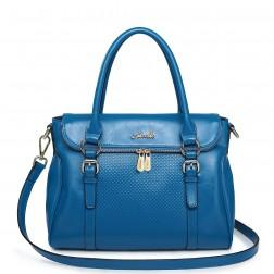 Women's shoulder bag blue