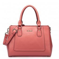 Women's genuine leather handbag blue