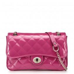 Women's genuine leather handbag black