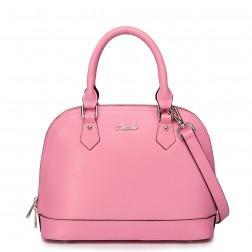 NUCELLE Diamond check handbag yellow