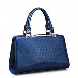 NUCELLE Leather handbag black