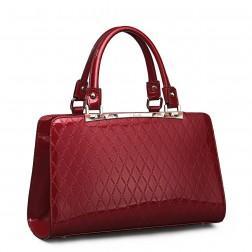 Elegant shoulder bag red