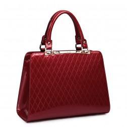 NUCELLE Elegant leather bag black